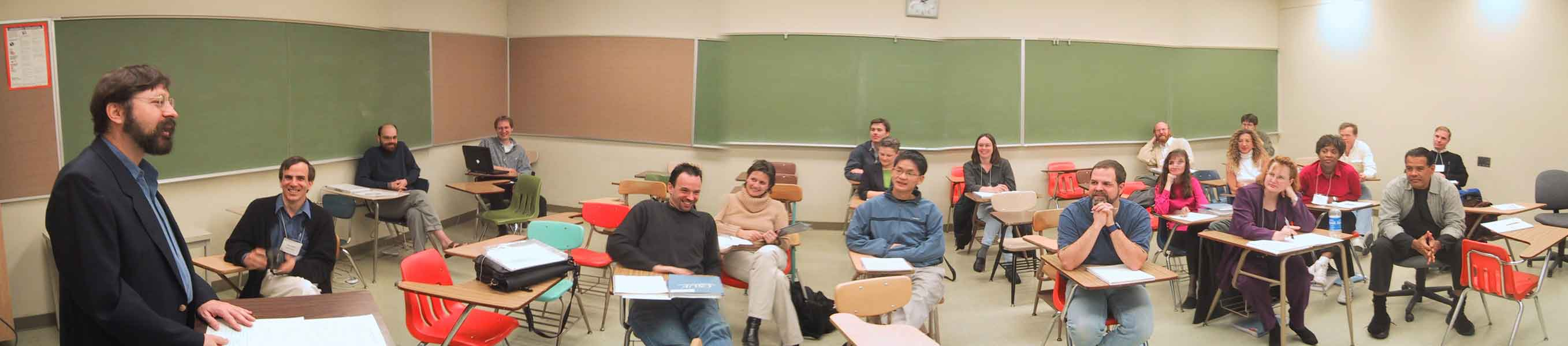 picture of ATI workshop Jan 2002